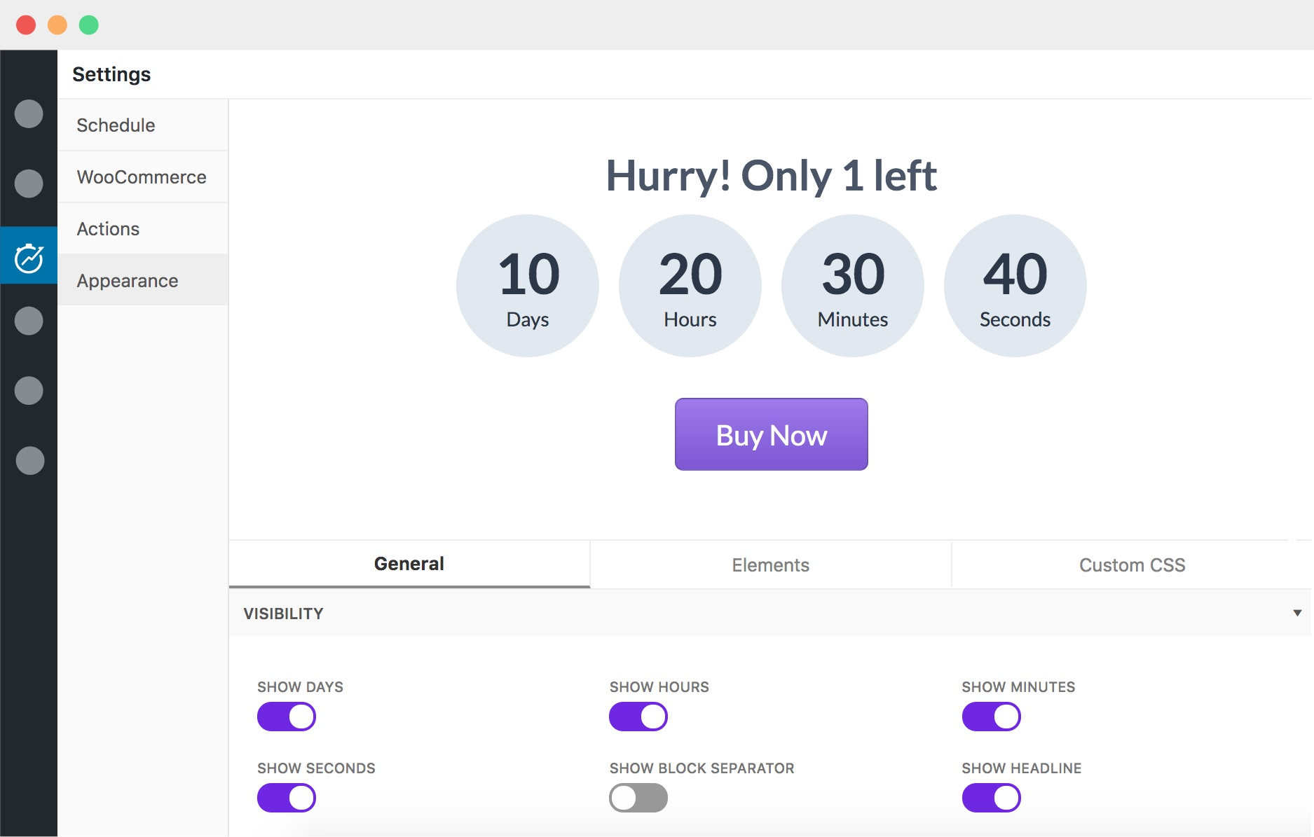 The Powerful Multi-Purpose Countdown Timer for WordPress